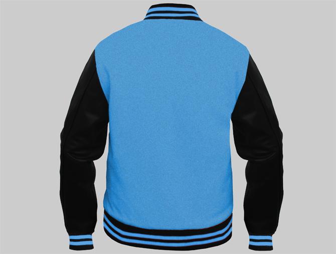 Custom Varsity Jackets Columbia Blue Design You Jacket