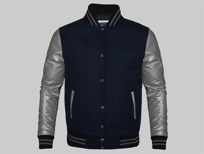 Womens varsity jacket customized