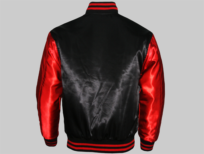 Custom Satin Varsity Jackets-2
