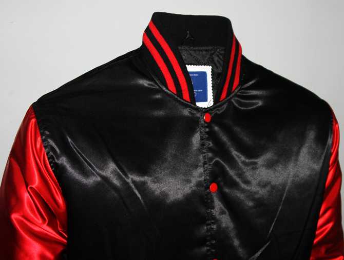 Custom Satin Varsity Jackets-3