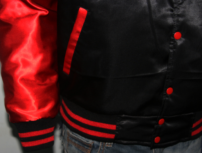 Custom Satin Varsity Jackets-4