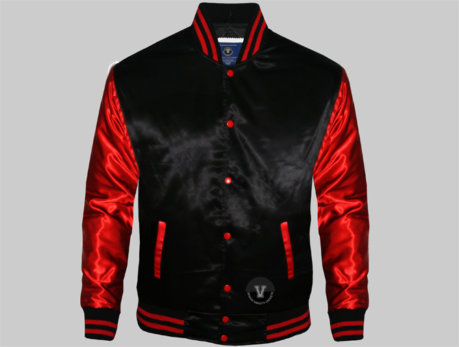 Custom Satin Varsity Jackets