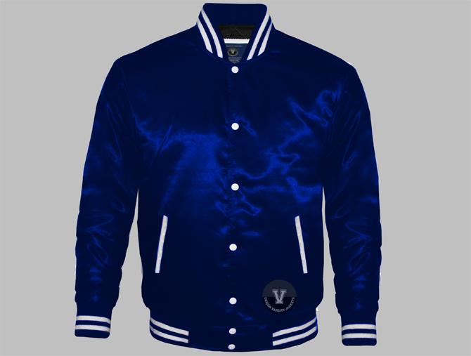 Well-liked Women Satin Varsity Jackets | Design Your Varsity Jackets online WS65