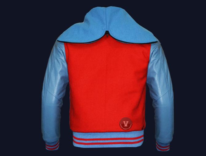 Design Online Varsity Jackets back